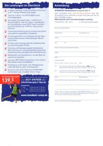 Flyer Intersport Handballschule Seite 2